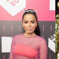 Anitta tá nos EUA já tirando onda: ela foi no aniversário de Drake e tirou fotinha com o Diplo