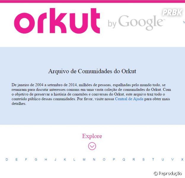 """Orkut chega ao fim e vira um """"museu"""" de comunidades"""