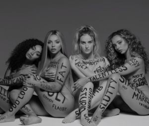 "Integrantes do Little Mix são criticadas após aparecerem sem roupa no clipe de ""Strip"" e Lauren Jauregui, ex-Fifth Harmony, as defende"