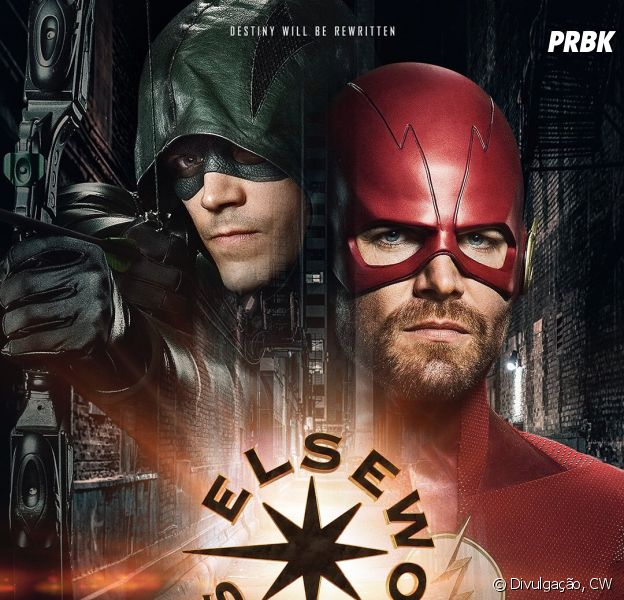 """Em """"Arrow"""" e """"The Flash"""", crossover será cômico, diz Melissa Benoist"""