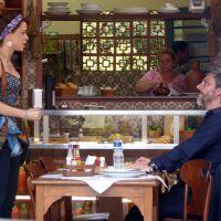 """Novela """"Império"""": Zé Alfredo almoça com Cristina e questiona teste de DNA"""