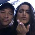 Diplo posta vários vídeos ao lado de Anitta em estúdio