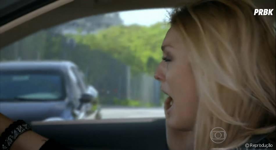 """Megan (Isabelle Drummond) sofreu um acidente de carro enquanto chorava por Davi (Humberto Carrão) em """"Geração Brasil"""""""