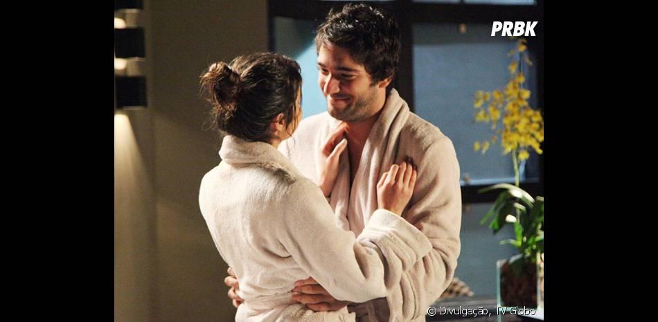 """Em """"Geração Brasil"""", Davi (Humberto Carrão) queria terminar com Megan (Isabelle Drummond) para voltar com Manu (Chandelly Braz)"""