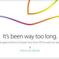 Apple confirma transmissão ao vivo de evento do novo iPad em 16 de outubro