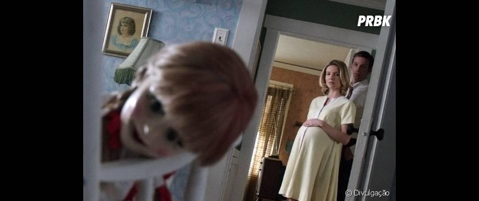 """Spin off de """"Invocação do Mal"""", """"Annabelle"""" conta história de uma boneca macabra"""