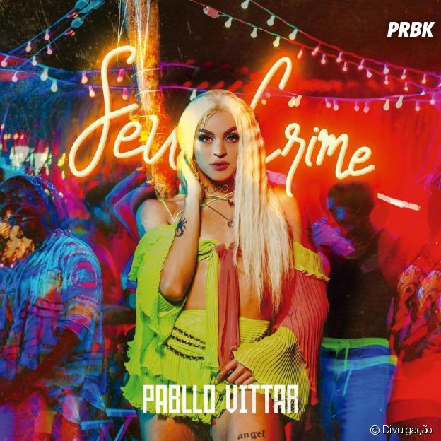 """""""Seu Crime"""", novo single de Pabllo Vittar, ganha capa"""
