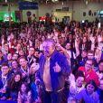 Maurício de Souza, criador da Turma da Mônica, foi uma das presenças ilustres na Campus Party 2019! #CPBR12
