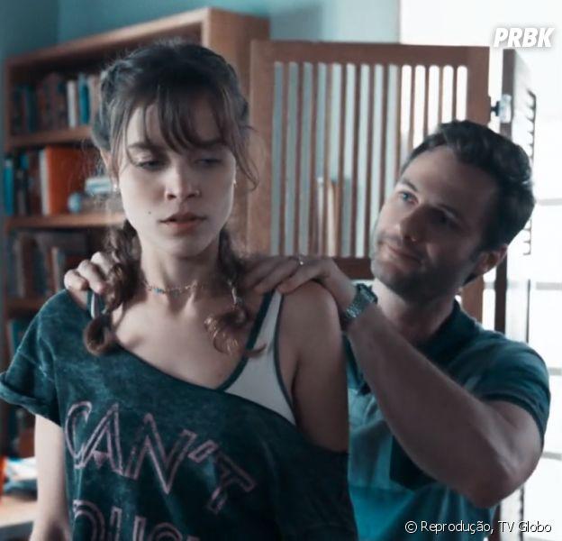 """Em """"Malhação"""": Breno (Marcelo Argenta) é preso após sequestrar Verena (Joana Borges)"""