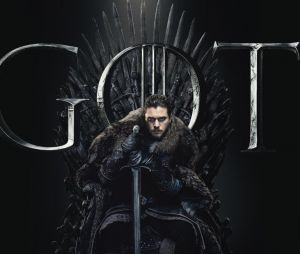 "De ""Game of Thrones"": Jon Snow (Kit Harington) ocupa o Trono de Ferro em imagem promocional!"