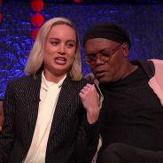 """Brie Larson e Samuel L. Jackson, de """"Capitã Marvel"""", fizeram sua própria versão de """"Shallow"""""""