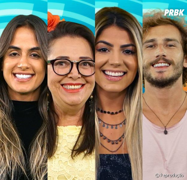 """Do """"BBB19"""", escolha dois participantes que merecem ser salvos: Hariany, Carol Peixinho, Alan ou Tereza?"""