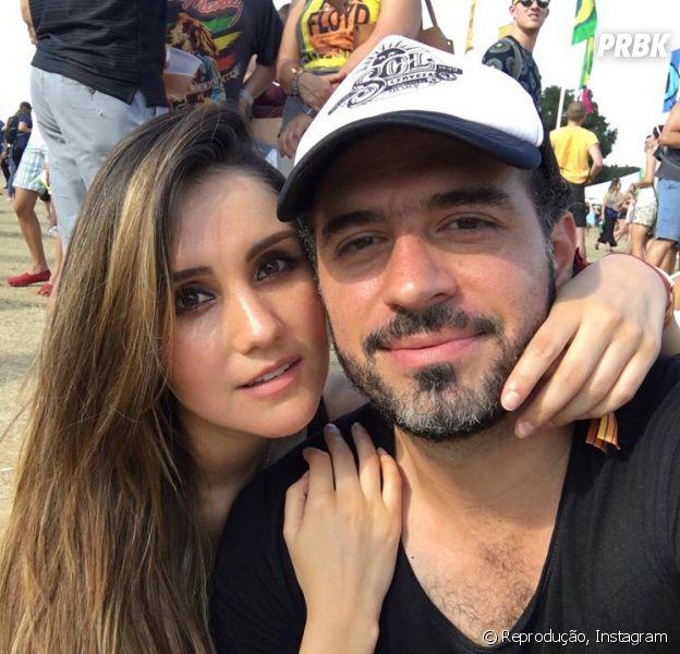 Dulce Maria já está planejando o casamento e vai deixar Alfonso Herrera de fora da lista de convidados
