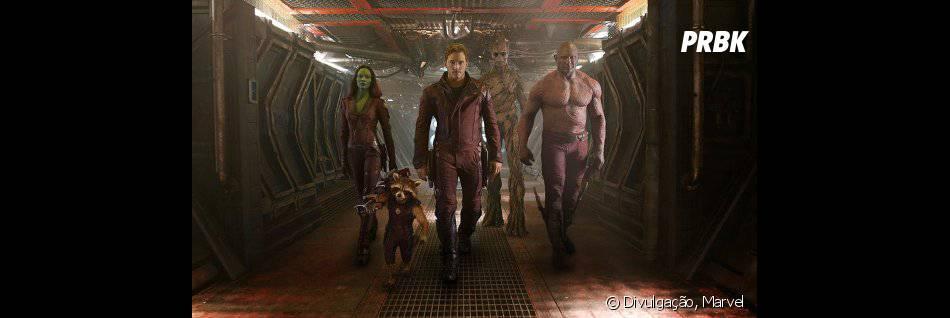 """Interpretado por Chris Pratt, Peter Quill é o único humano em """"Guardiões da Galáxia"""""""