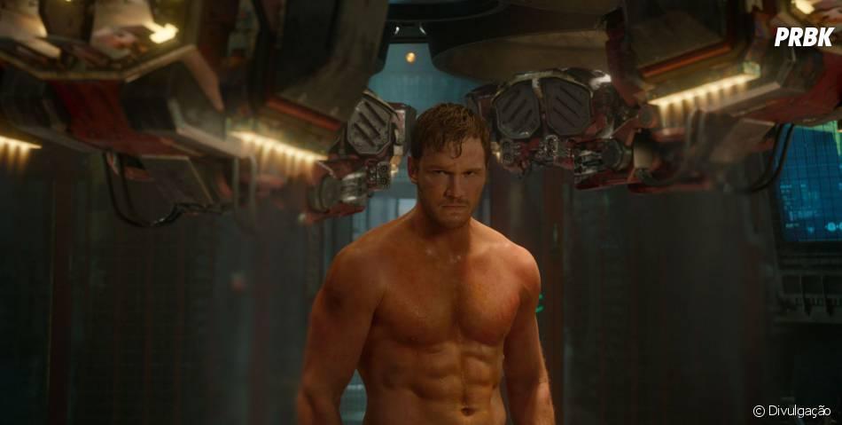"""Chris Pratt, protagonista de """"Guardiões da Galáxia"""", é o novo queridinho da Marvel"""
