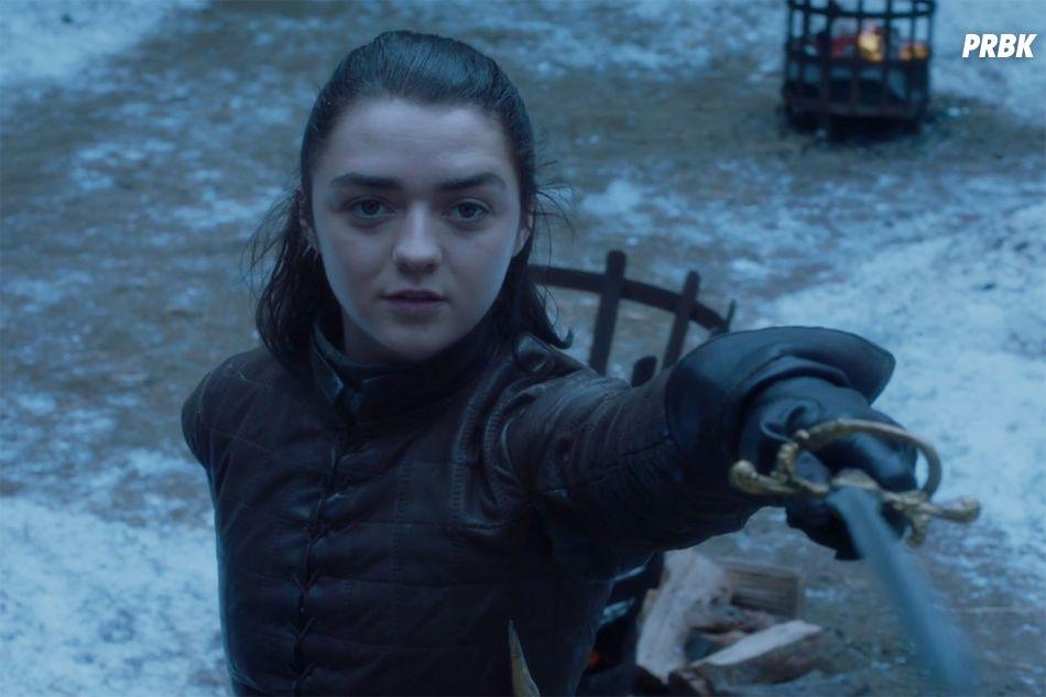 "Arya (Maisie Williams) planeja cumprir a promessa de matar Cersei (Lena Headey) no final de ""Game of Thrones"""