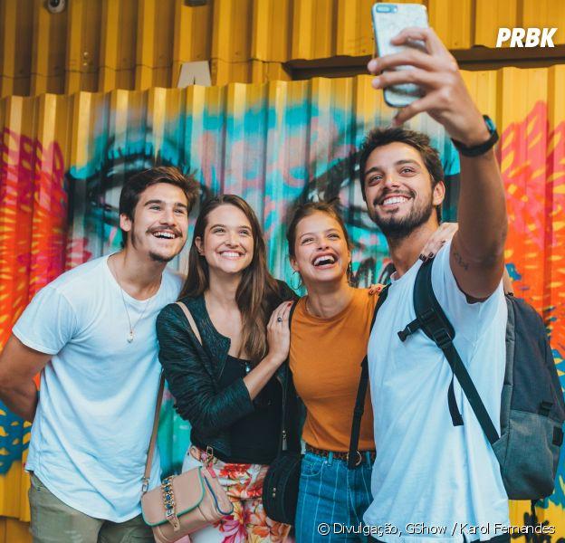 """Juliana Paiva, Nicolas Prattes, Agatha Moreira e Rodrigo Simas participaram do workshop de """"Malhação - Toda Forma de Amar"""""""