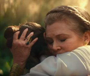 "Carrie Fisher aparecerá em ""Star Wars: Episódio IX"""
