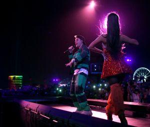Justin Bieber cantou no show da Ariana Grande no Coachella após 2 anos afastado dos palcos