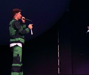Justin Bieber surpreendeu até a Ariana Grande no show do Coachella
