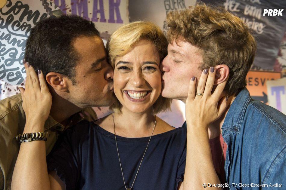 """""""Malhação - Toda Forma de Amar"""": Joaquim (Joaquim Lopes) e Lígia (Paloma Duarte) ficam preocupados com pedido de exame de DNA"""