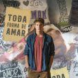 """""""Malhação - Toda Forma de Amar"""": Filipe (Pedro Novaes) é filho de Lígia (Paloma Duarte) e se apaixona por Rita (Alanis Guillen) na história"""
