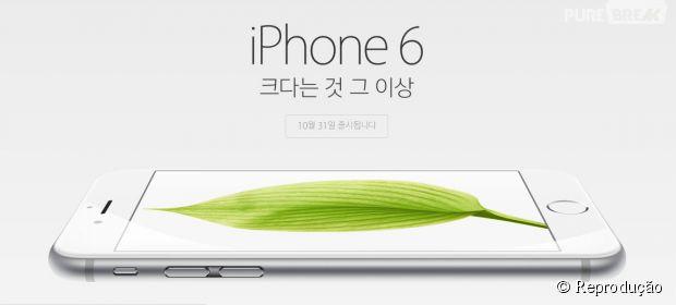 Em um minuto 10 mil iPhones 6 foram vendidos na Coréia do Sul