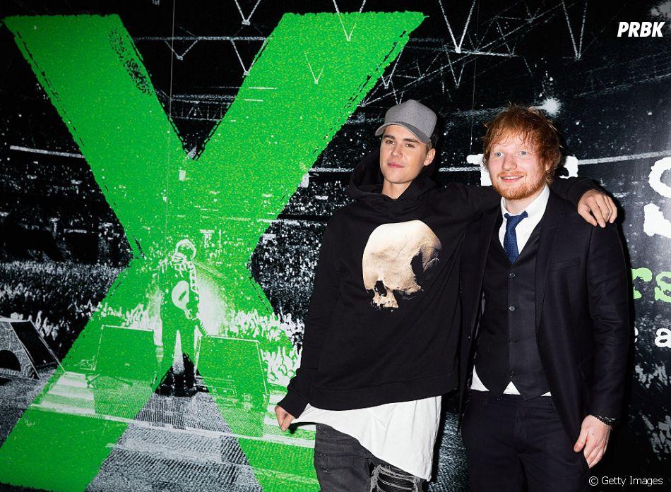 """Justin Bieber e Ed Sheeran, que já trabalharam juntos compondo antes, agora fazer feat em """"I Don't Care"""""""