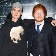 """Justin Bieber e Ed Sheeran finalmente anunciam oficialmente parceria """"I Don't Care"""" para sexta (10)"""