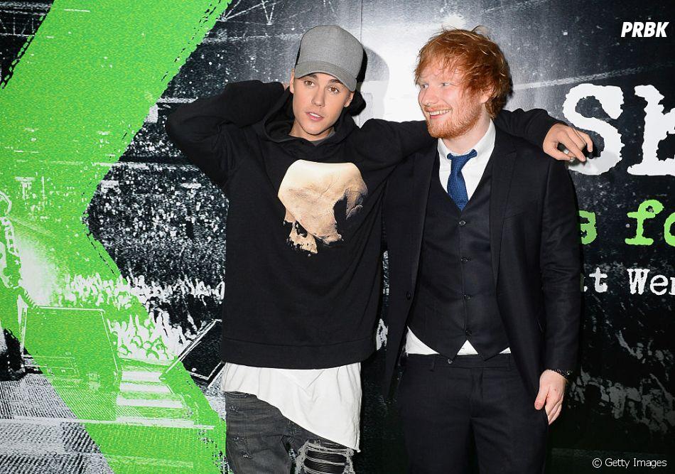 """Justin Bieber e Ed Sheeran cantarão juntos na faixa """"I Don't Care"""""""