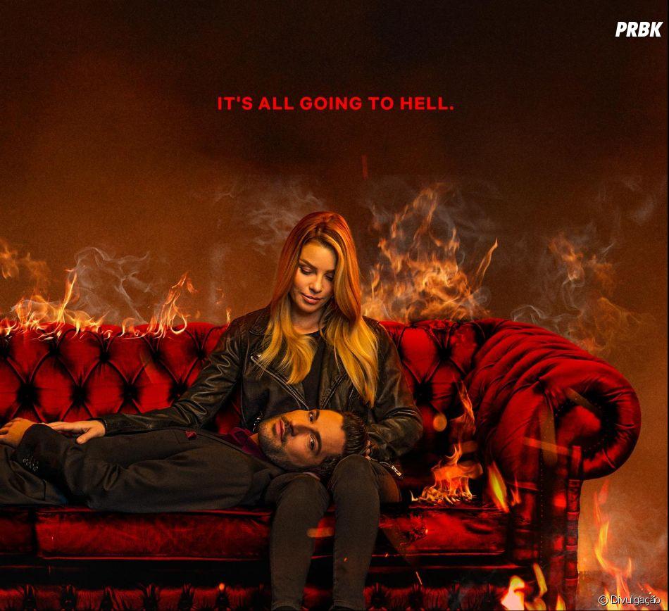 """A Netflix liberou a 4ª temporada de """"Lucifer"""" e nós já estamos loucos"""
