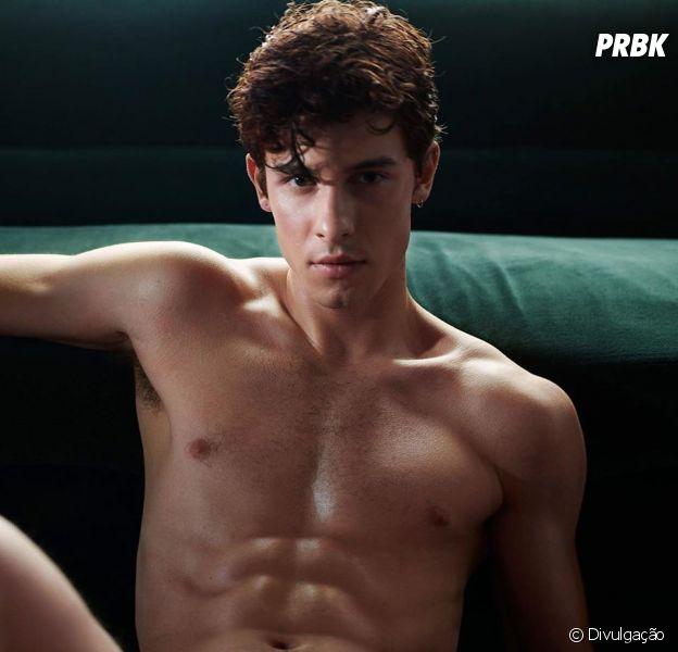 Shawn Mendes na Calvin Klein: cantor aparece só de cueca