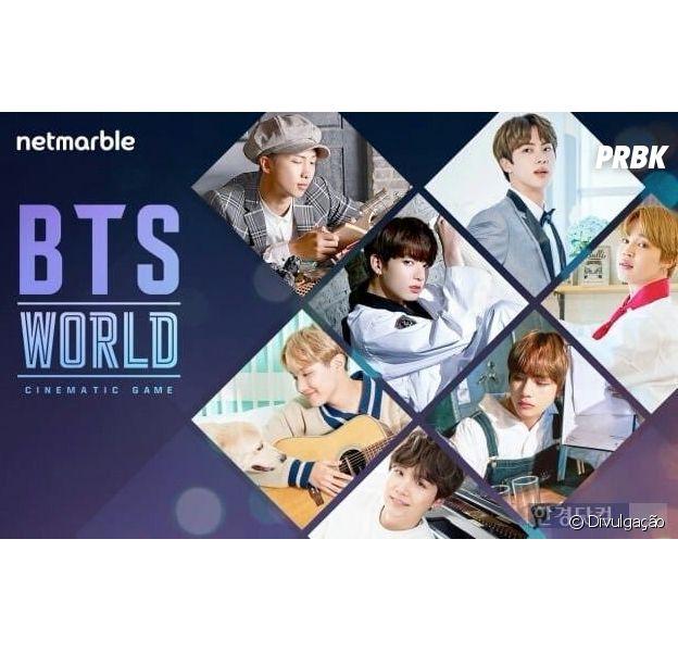 """BTS: o jogo de celular """"BTS World"""" estará disponivel tanto para iOS como para Android"""