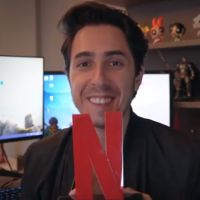Tá todo mundo emocionado com o anúncio do Felipe Castanhari na Netflix