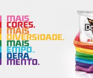 O Doritos Rainbow é o snack oficial do Rock In Rio 2019 e vai doar todos os lucros para uma fundação de apoio LGBT