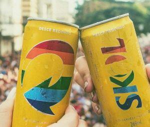 Patrocinadora oficial da Parada LGBT de São Paulo, a Skol sempre realiza ações em prol da diversidade