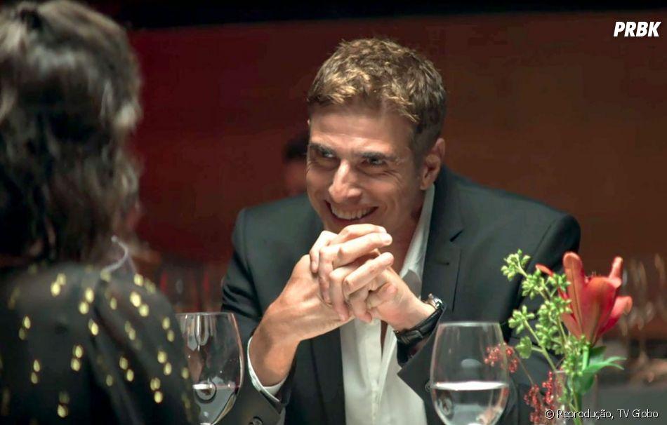 """Novela """"A Dona do Pedaço"""":Régis (Reynaldo Gianecchini) levará Josiane (Agatha Moreira) para o motel"""