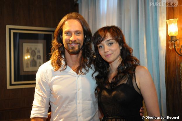"""Fernando Pavão e Simone Spoladore são o casal protagonista de """"Pecado Mortal"""", que estreia amanhã (dia 25), na Record."""