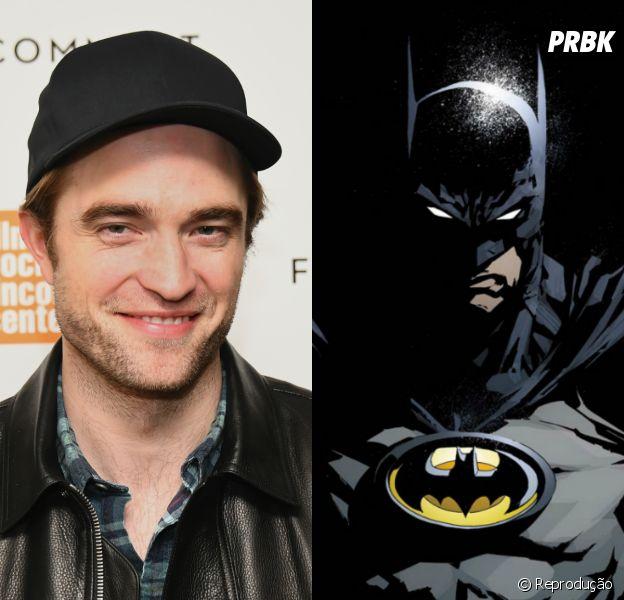 Robert Pattinson é aprovado pela Warner para ser o novo Batman