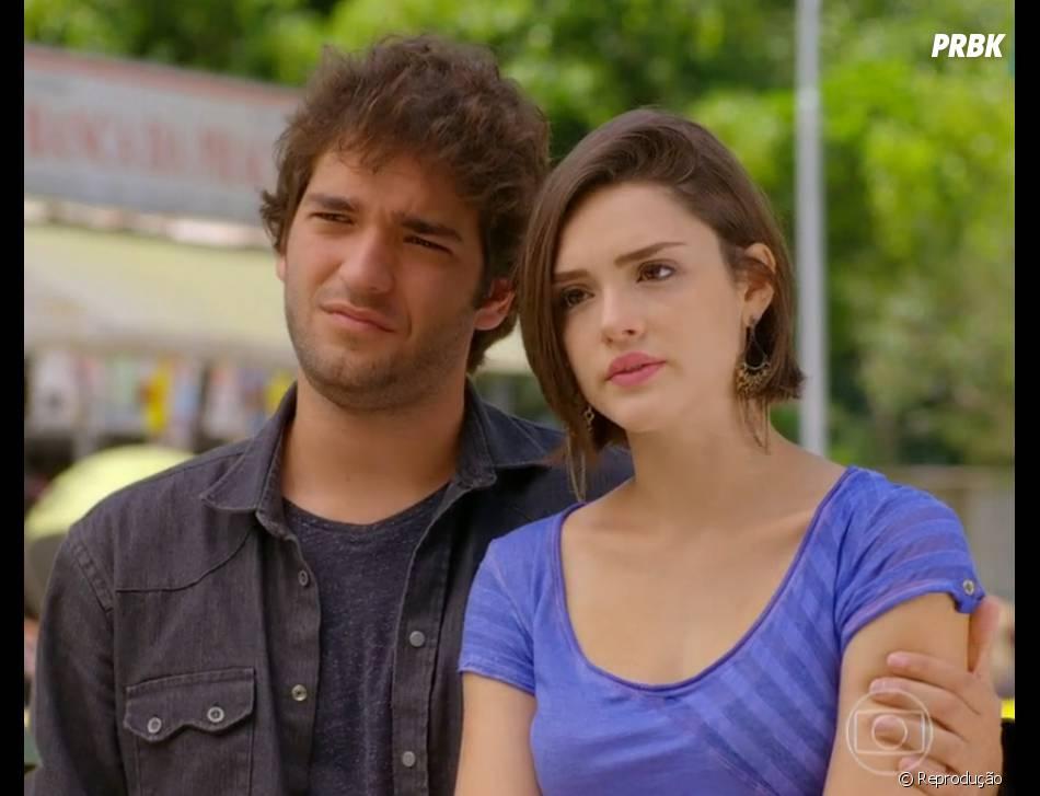 """Humberto Carrão e Isabelle Drummond viverão par romântico novamente em""""Geração Brasil"""""""
