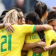 Copa do Mundo Feminina: Brasil vence Itália no jogo desta terça (18) e vai para as oitavas de final