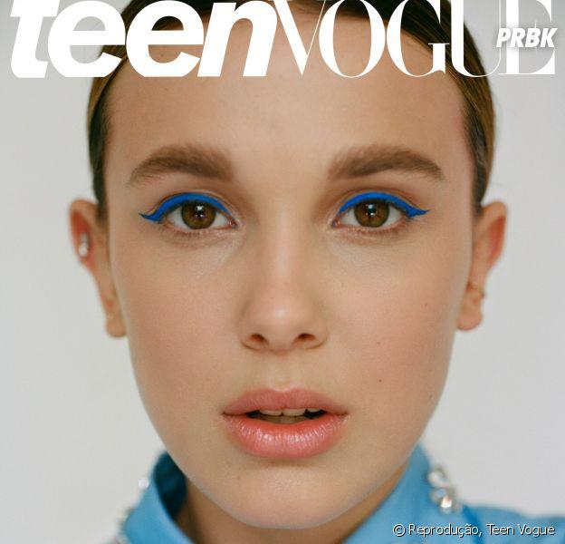 "Millie Bobby Brown é capa da Teen Vogue e fala sobre os bastidores de ""Stranger Things"""