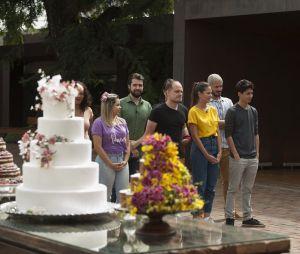 """""""MasterChef Brasil"""": participantes passam dificuldade na hora de preparar bolos de casamento"""