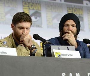 """Jensen Ackles e Jared Padalecki choram na Comic Con por causa do final de """"Supernatural"""""""