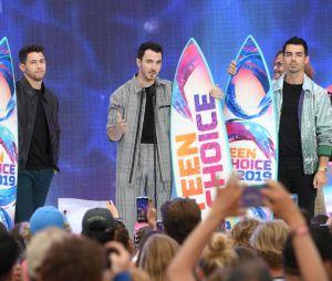 Teen Choice Awards 2019: Jonas Brothers também foram homenageados pela carreira