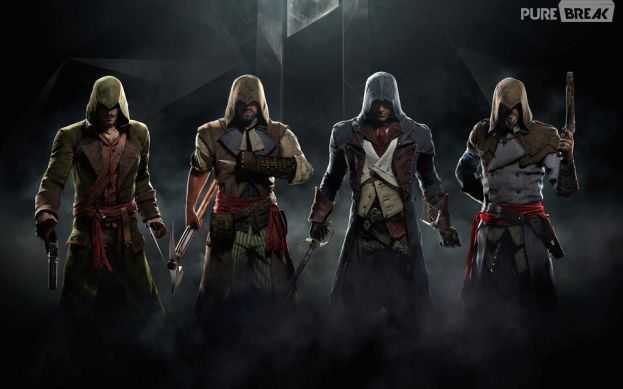 """Em """"Assassin's Creed: Unity"""" é possível completar missões com até quatro jogadores"""