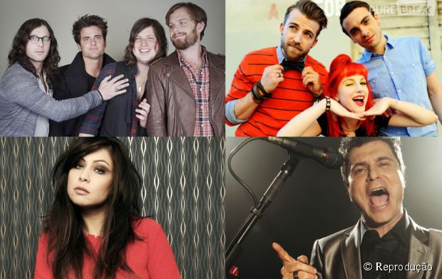 Kings Of Leon, Paramore, Pitty e Frejat são atrações do evento