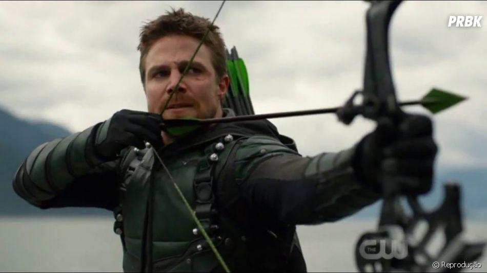 """Qual será o desfecho de Oliver (Stephen Amell) em """"Arrow"""""""