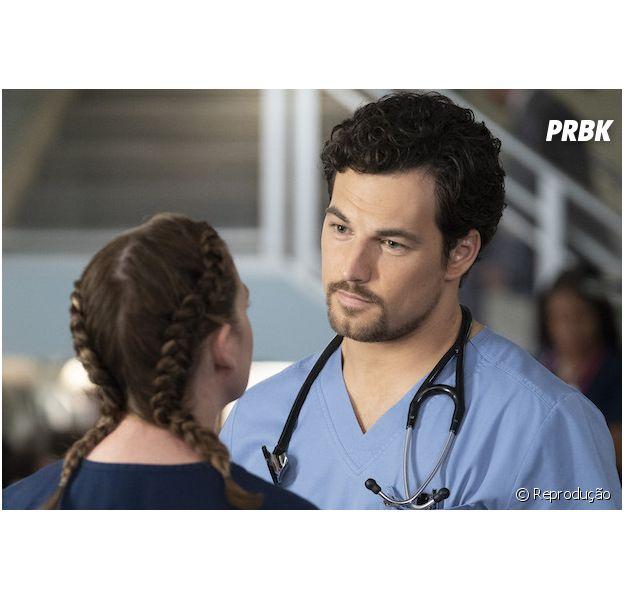 """""""Grey's Anatomy"""": vocês sabiam que DeLuca (Gioacomo Gioanniotti) não estaria na série?"""