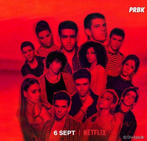 """Da Netflix, """"Elite"""": imaginamos a versão brasileira da série e estes foram os atores escolhidos"""